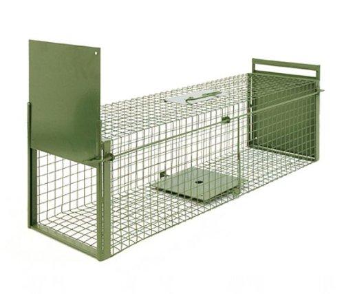 KrapTrap® Marderfalle Tierfalle Katzenfalle Lebendfalle 100 x 29 x 29 cm