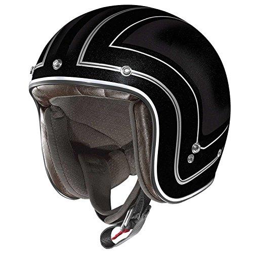 X-Lite X-201Caliente Jet Motorcycle Helmet Composite Fibre N-Com Matt Black