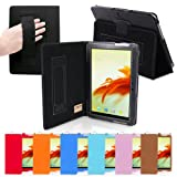 Snugg Galaxy Tab 2 10.1 Case Cover and Flip Stand in Leather with Elastic Hand Strap and Premium Nubuck Fibre... by Snugg