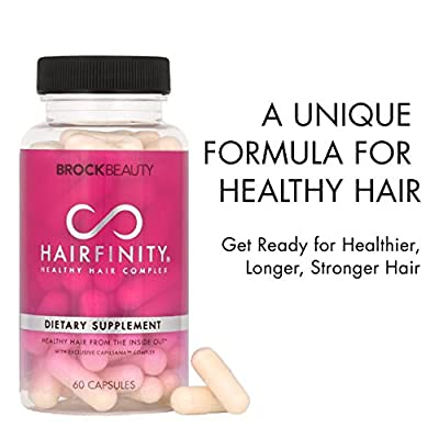 Brock Beauty Hairfinity® Healthy Hair Vitamins
