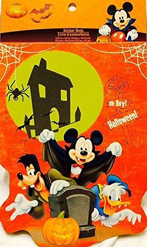 Disney Mickey Mouse Clubhouse Let's Trick Or Treat Stickers - 5 Sheets