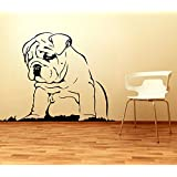 Decal Style Pug Wall Sticker Small Size-23*17 Inch