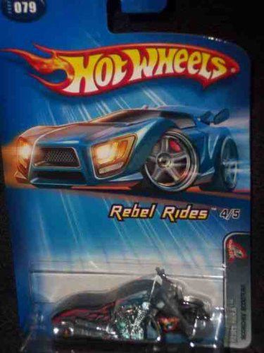 Rebel Rides Series #4 Scorchin' Scooter Thailand #2005-79 Collectible Collector Car Mattel Hot Wheels 1:64 Scale - 1