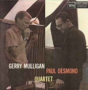 Gerry Mulligan Paul Desmond Quartet [ Original LP Vinyl ]