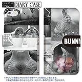 301-sanmaruichi- Xperia Z4 ケース Xperia Z4 カバー エクスペリア Z4 ケース 手帳型 おしゃれ うさぎ 兎 rabbit bunny ラビット バニー A 手帳ケース SONY
