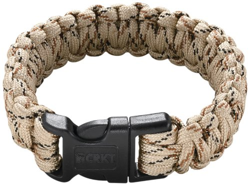 Columbia River Knife And Tool 9300Tl Onion  Para-Saw Survival Bracelet, Large, Tan