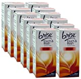 12x Glade / Brise Touch N Fresh Refill Anti Tobacco 10ml