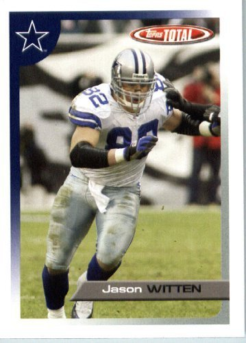 2005 Topps Total Football Karte ( ) # 272 Jason Witten Dallas Cowboys