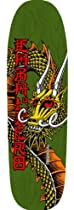 POWELL PERALTA Skateboard Deck Caballero BAN THIS GREEN RE-ISSUE 2013