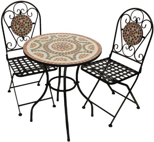 billig 5tlg sitzgruppe bistrotisch aluminium 60x60cm 4x bistrostuhl polyrattanbespannung. Black Bedroom Furniture Sets. Home Design Ideas