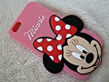 DIA® DISNEY MINNIE MOUSE BIG FACE SERIES SILICONE PHONE CASE COVER FOR APPLE IPHONE 6 PLUS