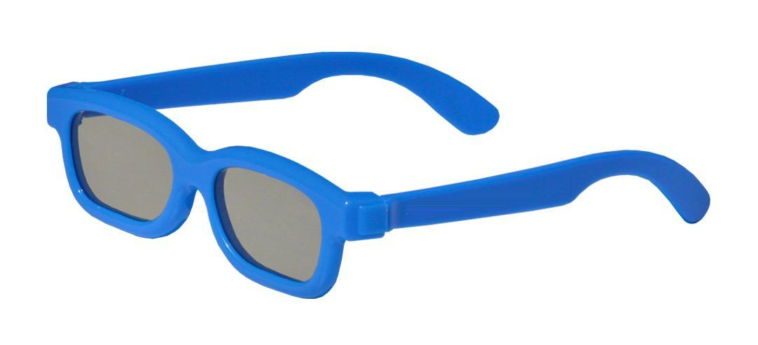 Freedie 3D Glasses Eyeglass for Child Children Anaglyph blue