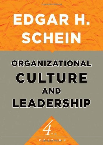 Organizational Culture and Leadership (The Jossey-Bass