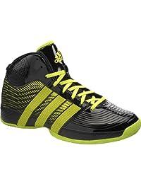 adidas Men's Commander TD 4 Mid Basketball Shoes, Black/slime