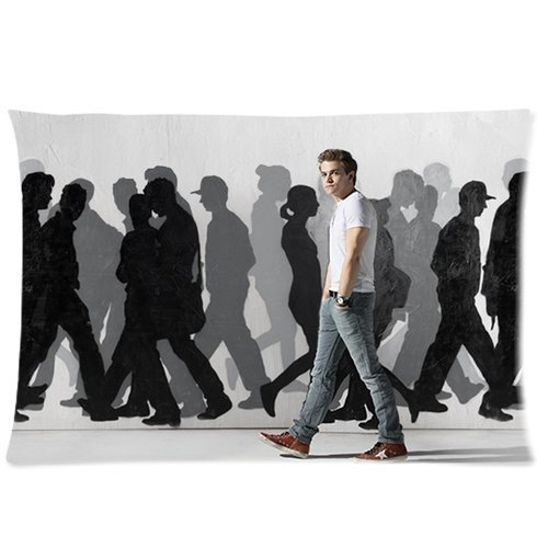 Butuku America Hot Star & Music Singer Hunter Hayes Personalized Custom Soft Rectangle Pillow Case Cover 20X30 (One Side) front-705375