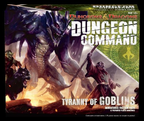 Dungeon Command: Tyranny of Goblins: A Dungeons & Dragons Expansion Pack (D & D Miniatures Product)