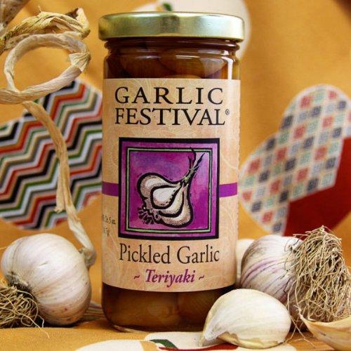 Teriyaki Pickled Garlic (8 oz.) (Teriyaki Pickled Garlic compare prices)