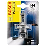Bosch 1987301001, Car Light Bulb, H4 Pure Light, Headlamp Bulb, OE Quality