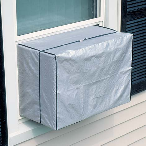 Window air conditioner cover small 5 000 10 000 btu by for 1800 btu window air conditioner
