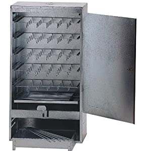 LARGE BOX FISH AND MEAT BBQ COLD OR HOT FOOD SMOKER COOKER WITH FREE WOOD CHIPS & BRINE