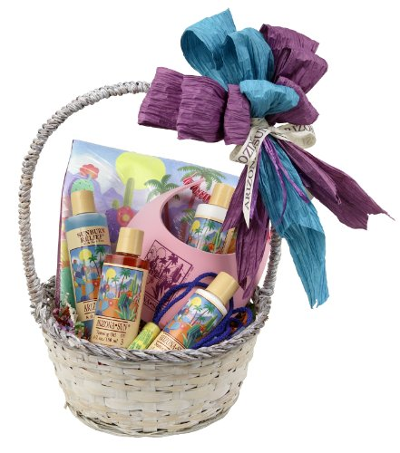 Arizona Sun Cruise and Resort Gift Basket - Say Bon Voyage - Have a Great Trip Gifts - Everything Needed for Vacation - Soothing Skin Care - Sun Care Protection - Any Occasion - Birthday