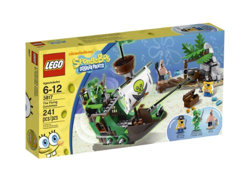 LEGO SpongeBob The Flying Dutchman 3817 Amazon.com