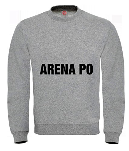 Felpa Arena po gray