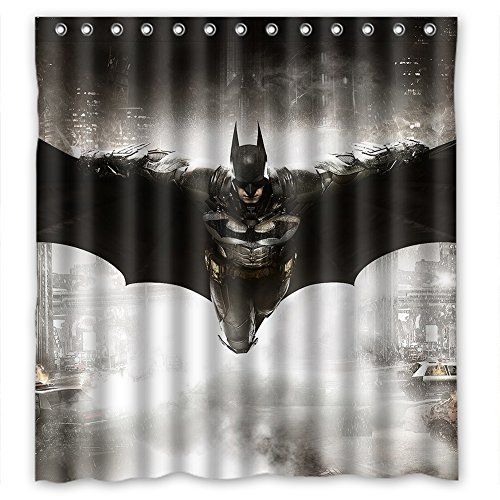 Cool Super Hero The Avengers Batman Polyester Waterproof Shower Curtain 66x72 inches