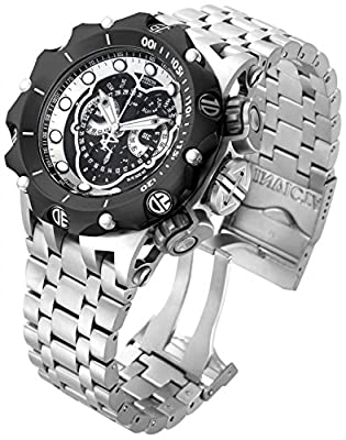 Invicta Men's 16809 Venom Analog Quartz Silver Watch
