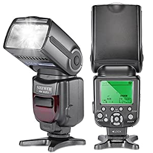 Neewer® NW-565 EXN I-TTL Slave Speedlite with Flash Bounce Diffuser for Nikon D4, D3s, D3x, D3, D700, D300s, D300, D200,D100, D90, D80, D70s, D5200, D3200, D7000, D5100, D5000, D3100, D3000, D60, D40X, D800, D600, D7100 and All Other Nikon Models