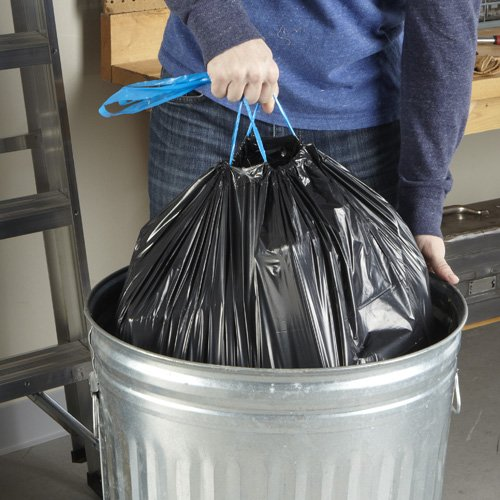 Hefty Strong Large Trash Bags (Trash Can Liner, Drawstring)