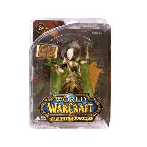 World of Warcraft Series 3 Human Priestess Action Figure