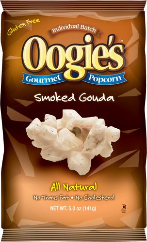 Oogie's Gourmet Popcorn, Smoked Gouda, 5-Ounce Bags (Pack of 15) (Oogie Popcorn compare prices)