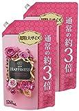 【まとめ買い】 レノア ハピネス 柔軟剤 アンティークローズ&フローラル 詰替用 超特大サイズ 1260ml×2個