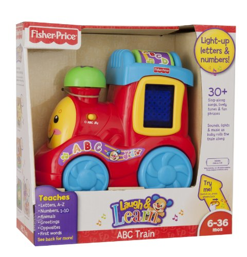 Fisher Price Laugh and Learn ABC Train