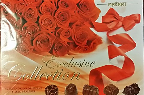 Delicious Exclusive Collection Assortiment Chocolates Rose Gift Box 260g