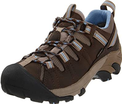 KEEN Women's Targhee II Waterproof Hiking Shoe,Dark Earth/Allure,5 M US