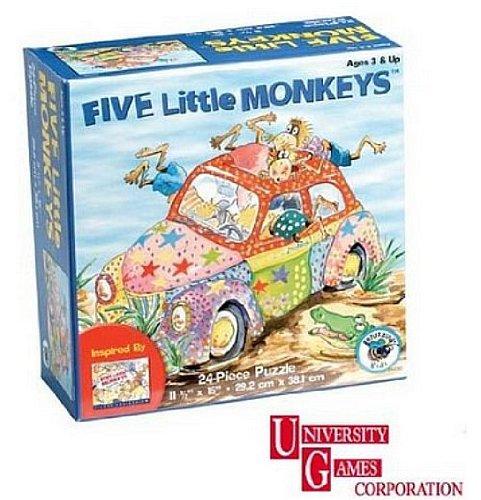 Five Little Monkeys 24 pc. Puzzle - 1
