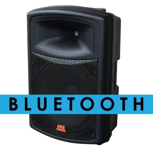 "Emb Eb115Bt Pro Single 12"" 2-Way Powered Speaker With Bluetooth 900 Wattt"