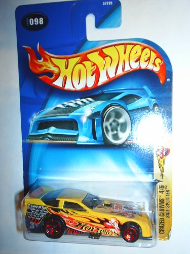 Hot Wheels Crazed Clowns 4/5 Side-Splitter