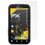 """atFoliX Displayschutzfolie Motorola DEFY (3 St�ck) - FX-Antireflex, antireflektierende Premium Schutzfolievon """"Displayschutz@FoliX"""""""