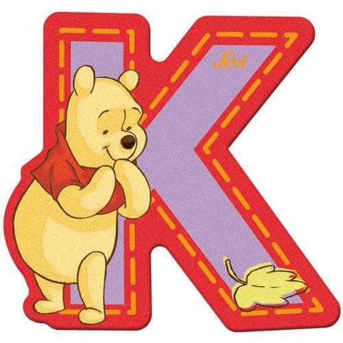 Sevi 82769 Klebebuchstabe K Winnie the Pooh