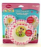 The First Years Minnie Mouse 4 Piece Feeding Set, Colors May Vary