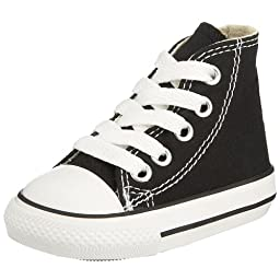 Converse Unisex Child Tod/Yth Chuck Taylor All Star Hi Top - Black - 10.5 TOD