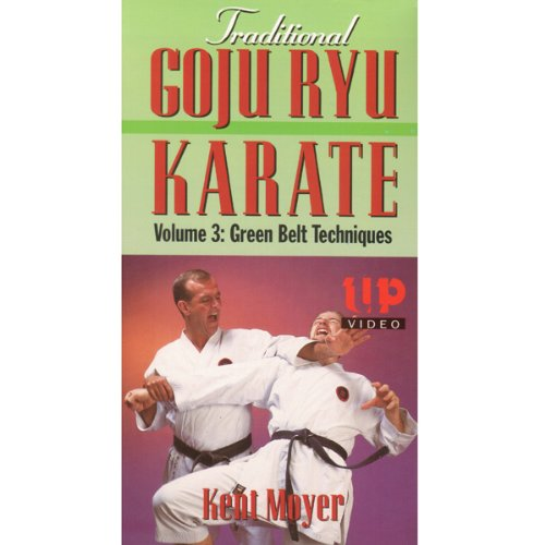 Goju Ryu Karate #3 VHS Kent Moyer