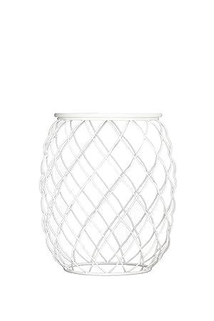 Magis Pina-Tavolino basso, in metallo, colore: bianco