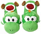 New Super Mario Bros Yoshi Plush Slippers