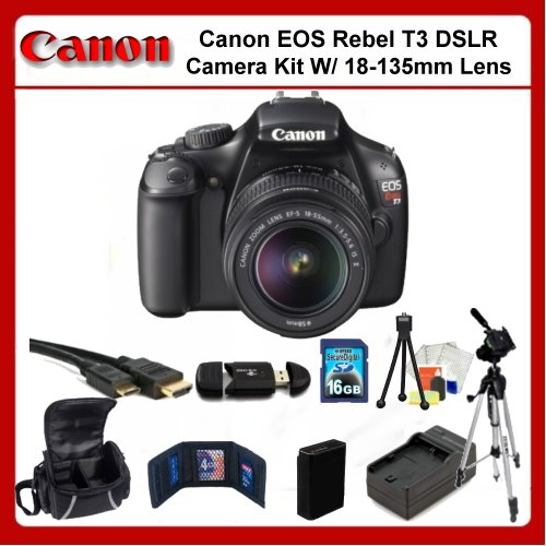 Canon EOS Rebel T3 Digital SLR Camera Kit