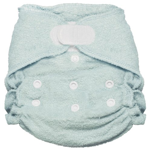 Imagine Baby Products Rayon from Bamboo Fitted Hook and Loop Diaper, Indigo