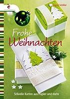 Stilvolle Weihnachtskarten aus Papier